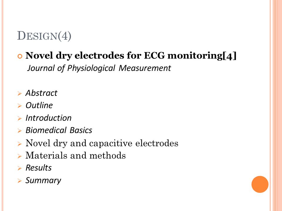 ecg signal acquisition hardware design - ppt download, Powerpoint templates